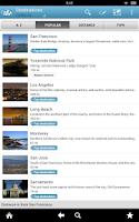 Screenshot of California Guide by Triposo
