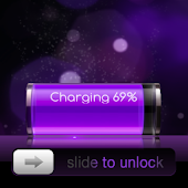 Go Locker iPhone Purple