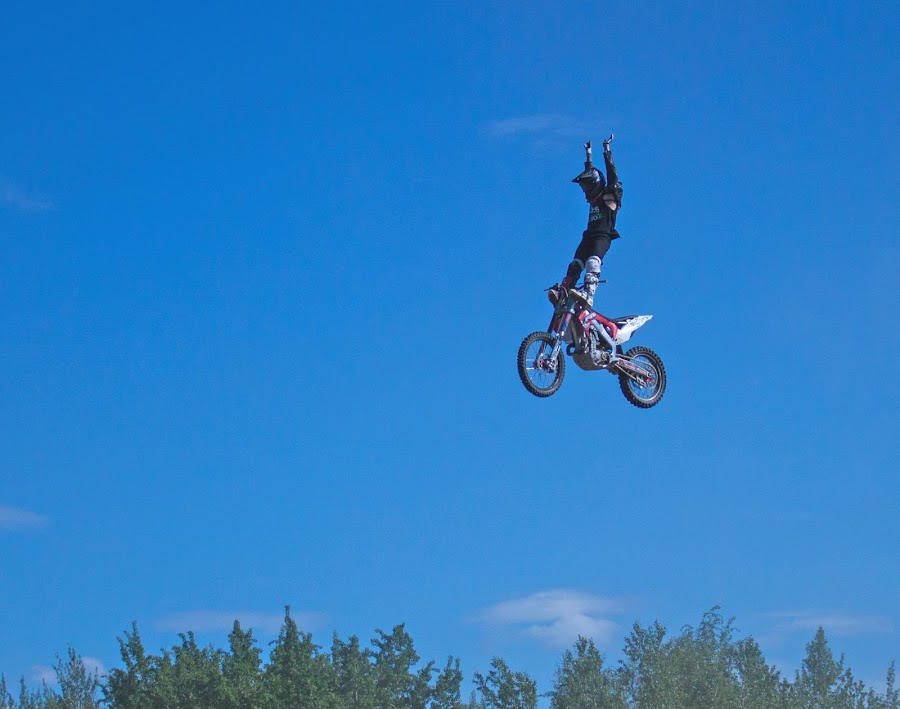 No Hands by Raymond Durrell - Sports & Fitness Motorsports