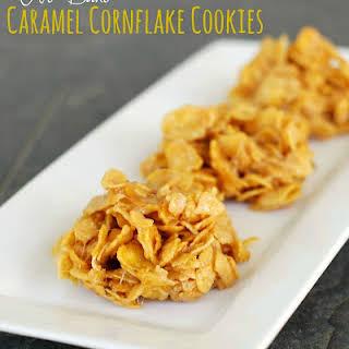 No-Bake Caramel Cornflake Cookies.