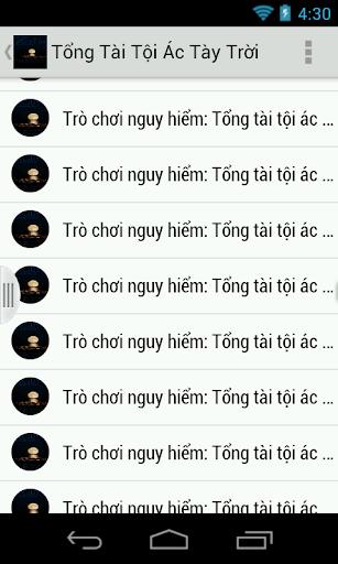 Tong Tai Toi Ac Tay Troi