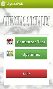 Ayuda PSU Ciencias Sociales - screenshot thumbnail