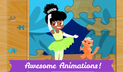 玩教育App|儿童芭蕾伶娜拼图—适合小女孩玩的芭蕾明星拼图游戏免費|APP試玩
