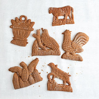 Speculaas (Molded Ginger Cookies)