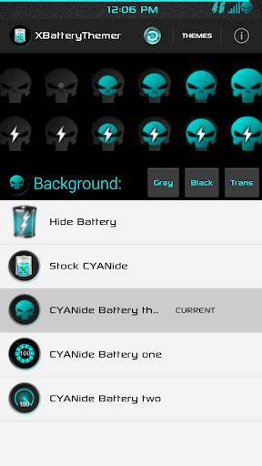 玩免費個人化APP|下載XPOSED Battery CYANide Three app不用錢|硬是要APP