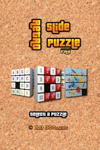 Retro Slide Puzzle PRO