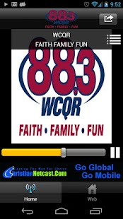 WCQR 88.3 - screenshot thumbnail