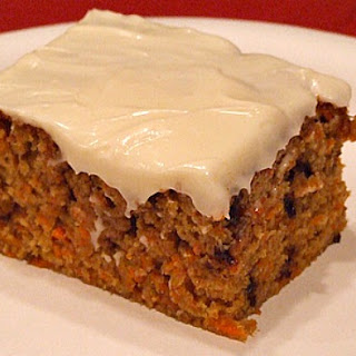 Chocolate Chip Carrot Cake.