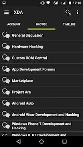 XDA Forums v1.5