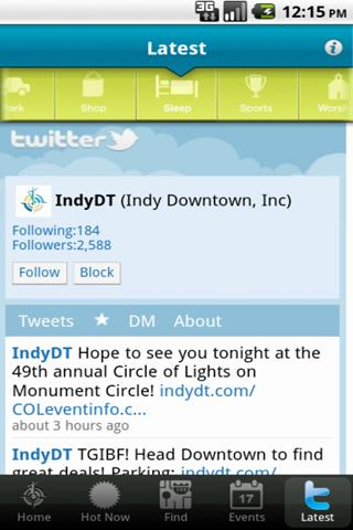 Indy Downtown - screenshot