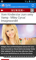 Screenshot of Österreich News