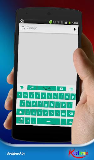 【免費個人化App】Flat Green Keyboard-APP點子