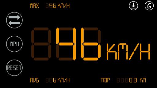 無料交通运输AppのシンプルなスピードメーターHUD2|記事Game