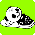 Panda Talks Full Version clock logo