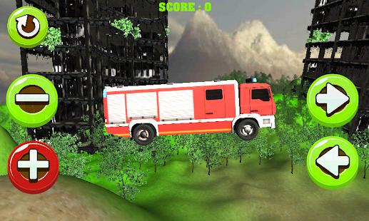 Fire Truck Stunts 3D