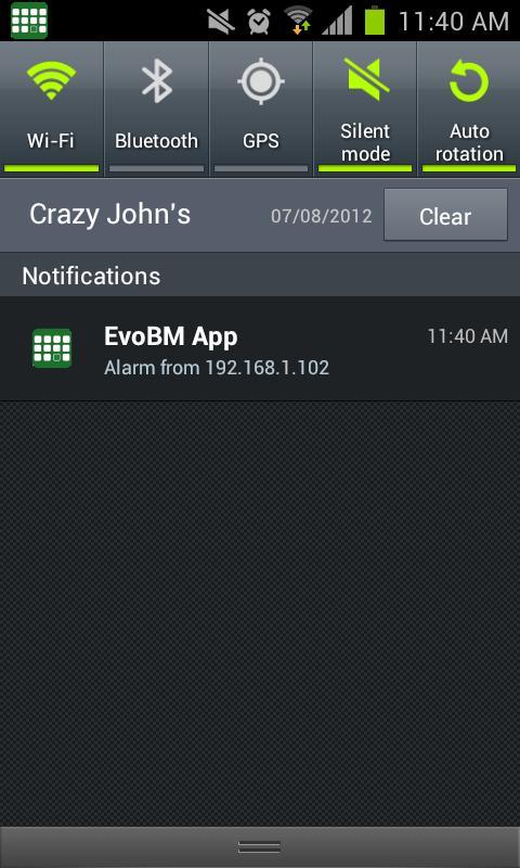EvoBM- screenshot