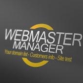Webmaster Manager