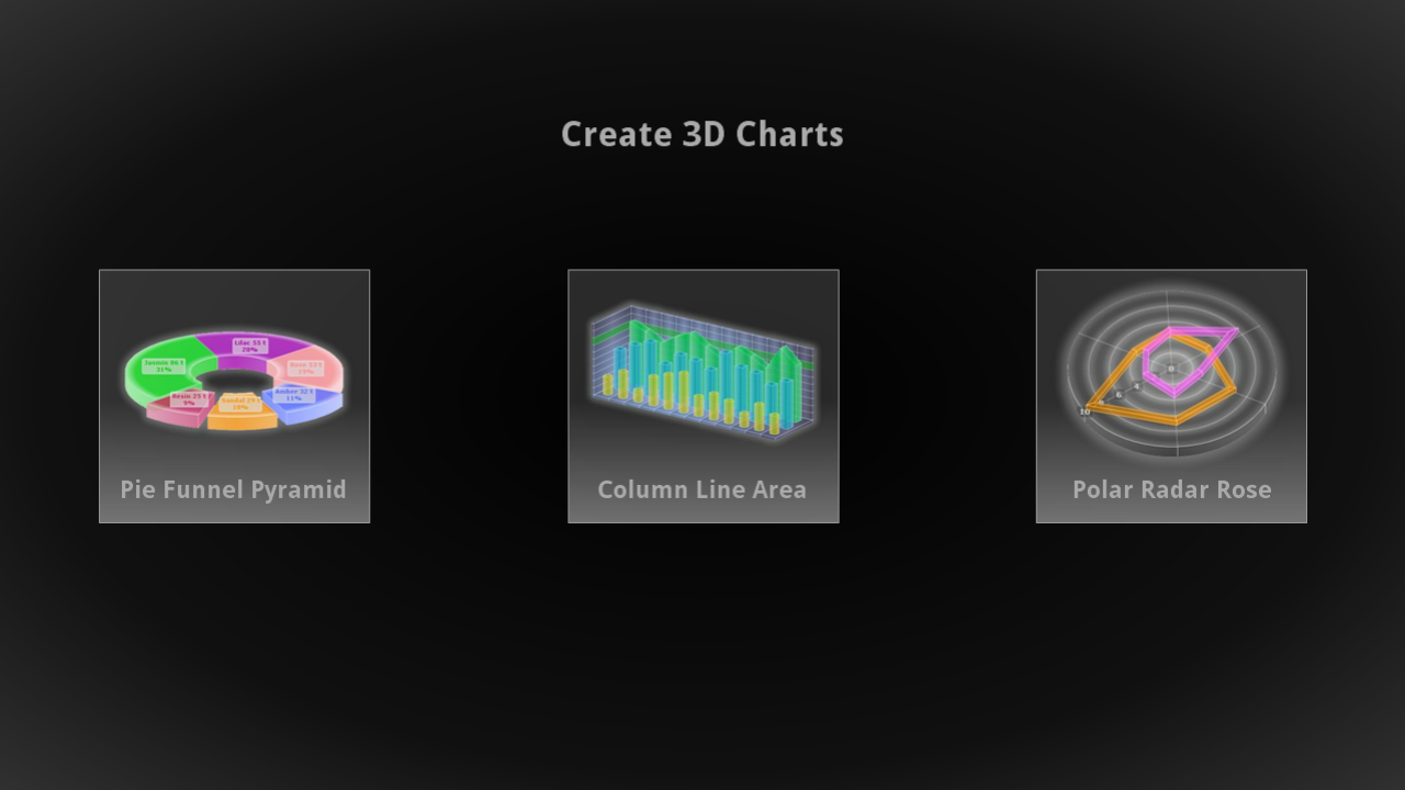3D Charts- screenshot