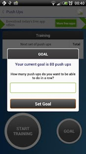 Push Ups - Fitness Trainer- screenshot thumbnail