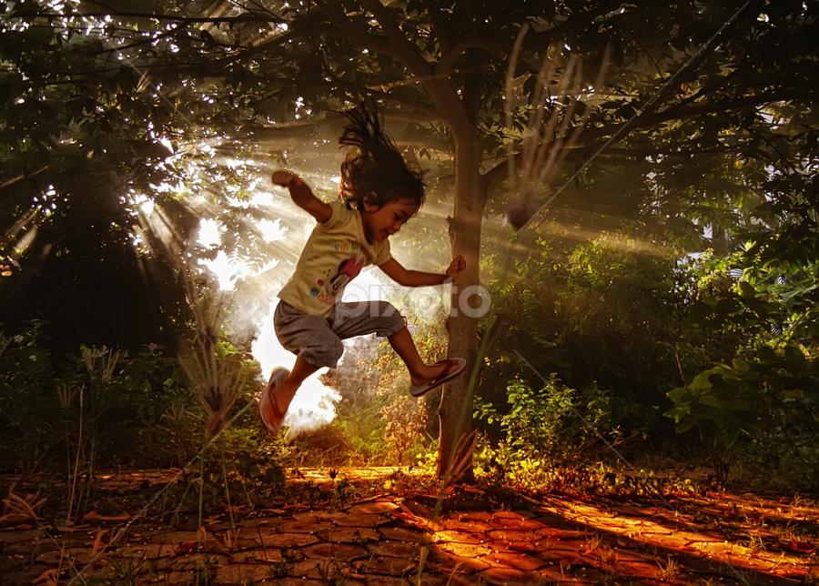 by Lalu Agus Suhardiman - Babies & Children Children Candids ( kids in the summer )