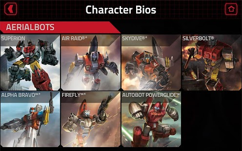 TRANSFORMERS Official App Screenshot 5