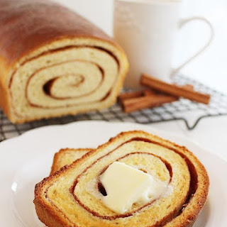 Soft Cinnamon Swirl Bread