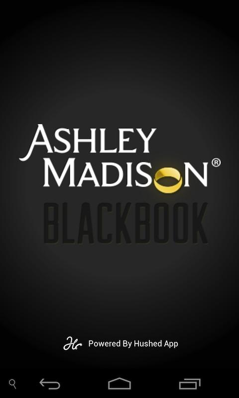 Ashley Madison BlackBook Phone - screenshot