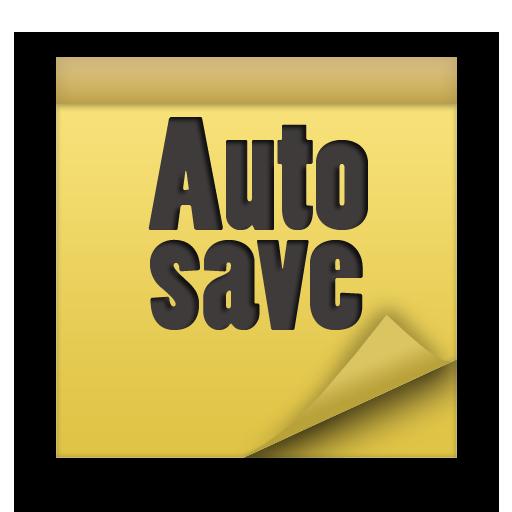 AutoSave notes 生產應用 App LOGO-APP試玩