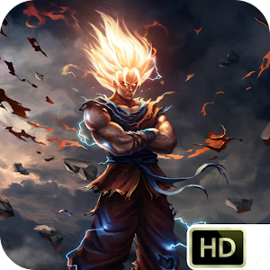 Dbz real wallpapers 1 2 apk free media video - 3d wallpaper of dragon ball z ...