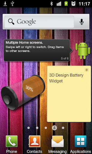 Download 3d design battery widget paid android apps apk for Home design 3d paid version apk