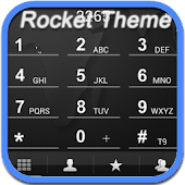RocketDial Map Black Theme