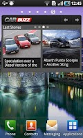 Screenshot of CarBuzz - Car news and reviews