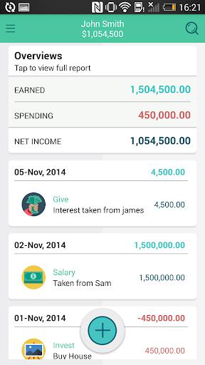 Zeal Money Tracker