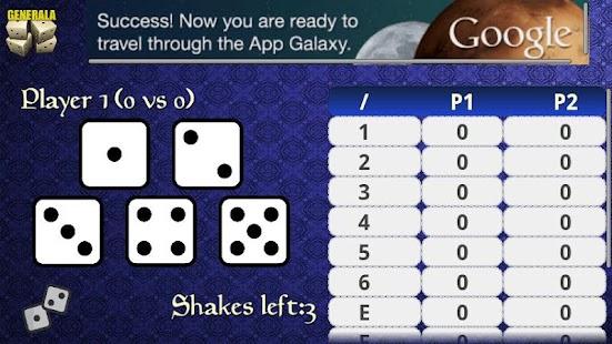 Generala Free screenshot