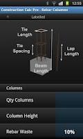 Screenshot of Construction Calc Pro