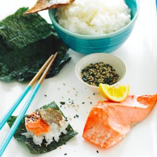 Salmon Shioyaki.