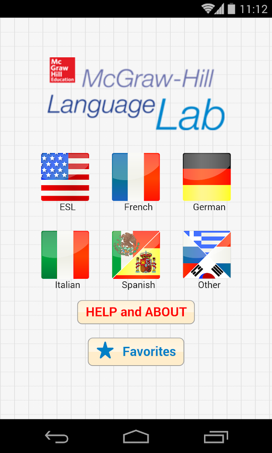 Language Lab- screenshot
