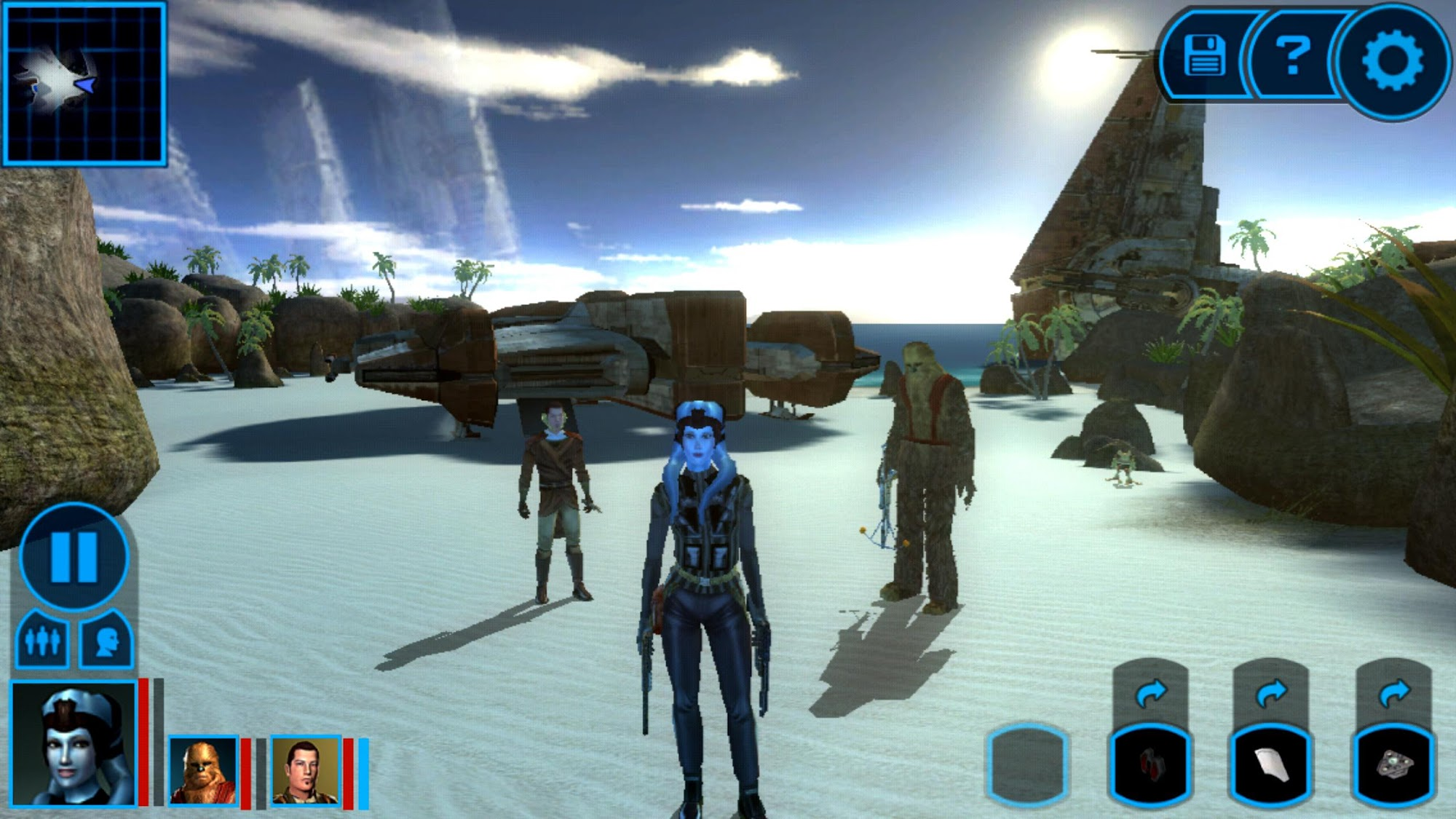 Star Wars™: KOTOR screenshot #2