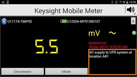 Keysight Mobile Meter - screenshot thumbnail