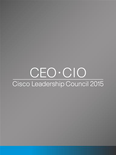 CEO•CIO 2015