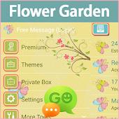 GO SMS Pro Flower Garden