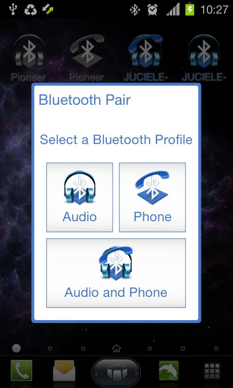 Bluetooth Pair - screenshot