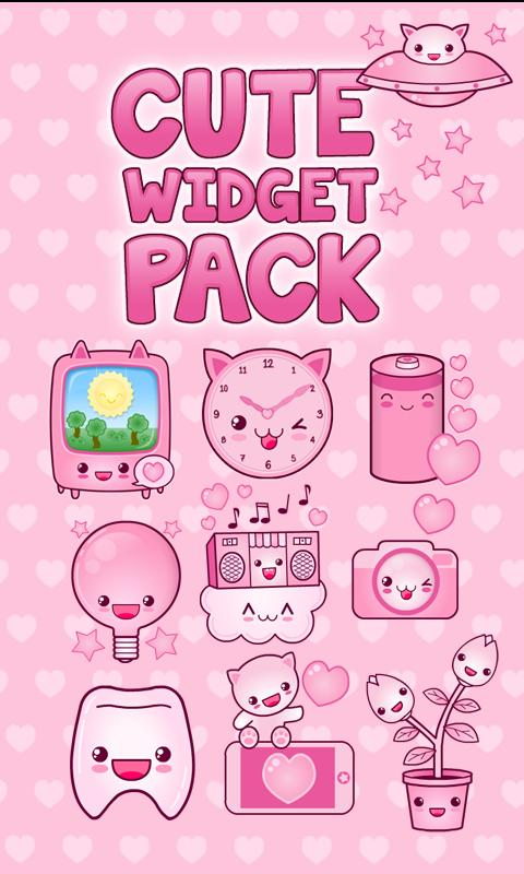 Cute Widget Pack - screenshot