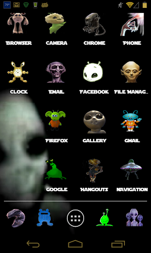 Aliens Theme for ADW Apex Nova