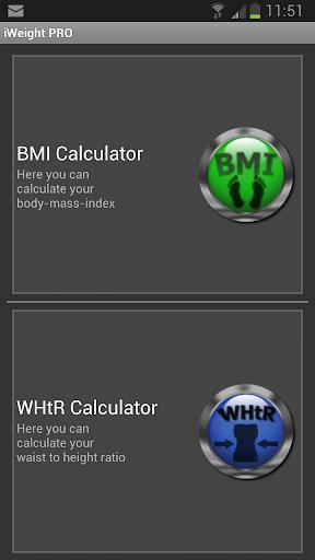 iWeight PRO - Weight control