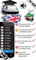 Screenshot of Free English Verbs