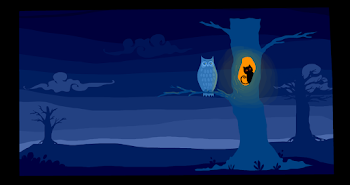 12. What did the owl see in the night?