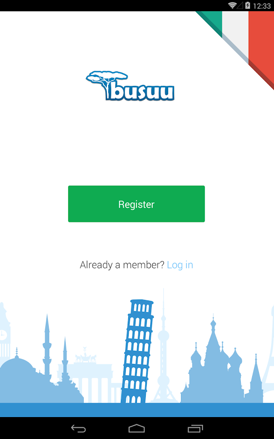 Learn Italian with busuu - screenshot