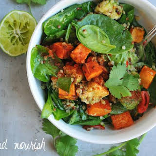 Superfood Spinach Salad.
