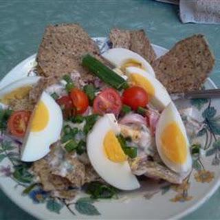 Nacho Corn Chip Salad